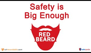 Image for Red Beard Safety Video - Safety is Big Enough