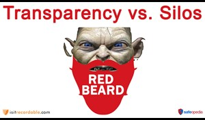 Image for Red Beard Safety Video - Transparency vs. Silos