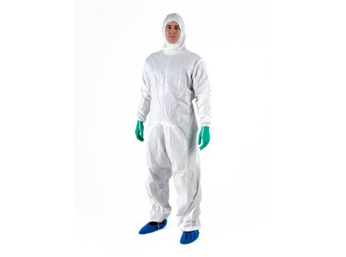 Protective clothing for cleanrooms