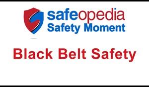 Image for Safety Moment Video - Black Belt Safety