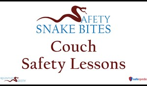 Image for Safety Snake Bites Video - Couch Safety Lessons