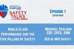 Safety Talks #1 - World Class Performance and the Five Pillars of Safety with Mike Saujani