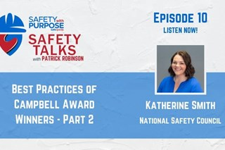 Safety Talks #10 - Campbell Award Winners with Katherine Smith - Part 2 of 2