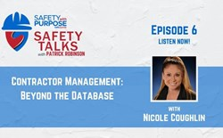 Safety Talks #6 - Contractor Management: Beyond the Database with Nicole Coughlin