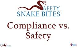 Safety Snake Bites Video - Compliance vs. Safety