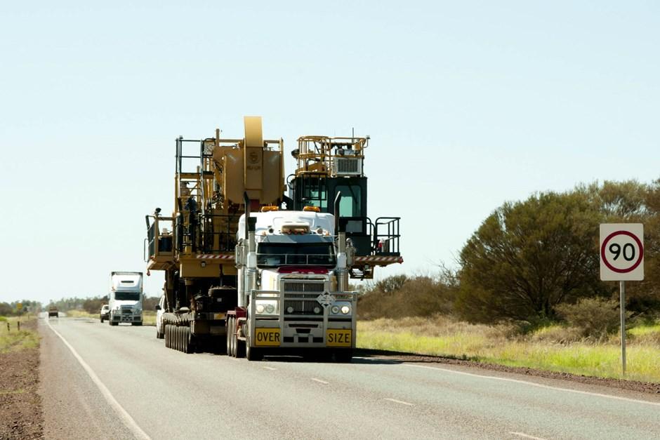 Securing transport loads