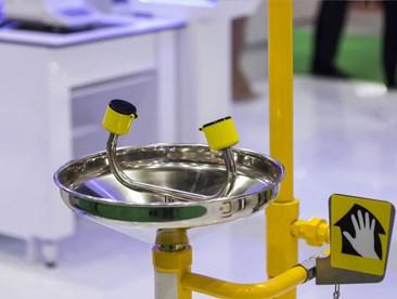 Maintaining safety showers and emergency eyewash stations
