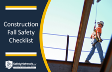 Construction Fall Safety Checklist