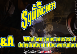 Video Q&A - What are some causes of dehydration in the workplace?