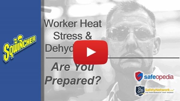Image for Webinar: Worker Heat Stress & Dehydration