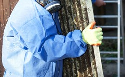 Asbestos removal can expose families to take-home toxins