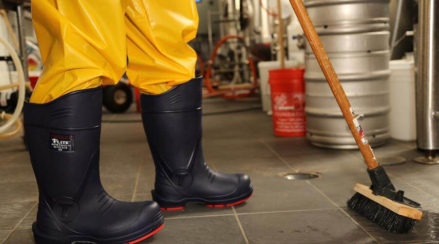 Putting Your Best Foot Forward: Foot Protection & Slip Hazard Prevention.