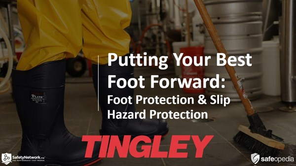 Image for Webinar: Putting Your Best Foot Forward: Foot Protection & Slip Hazard Prevention.