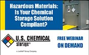 Hazardous Materials: Is Your Chemical Storage Solution Compliant?