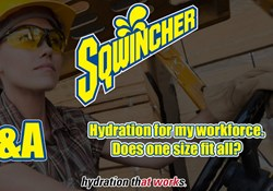 Video Q&A - Hydration for my workforce. Does one size fit all?