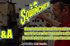 Video Q&A - How is hydration different for a workforce where people suffer from diabetes and hypertension?