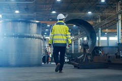 Walking through a metalworking plant