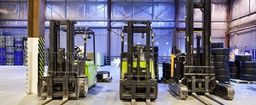 Warehouse barriers can mitigate forklift hazards