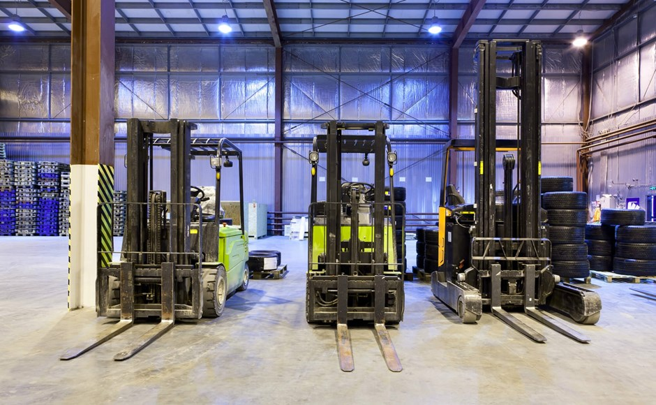Warehouse barriers can mitigate forklift hazards
