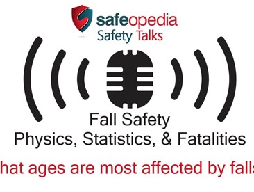 What ages are most affected by falls?