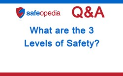 Video Q&A - What are the 3 levels of safety?