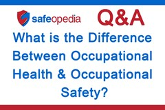 What is the difference between occupational health and occupational safety?