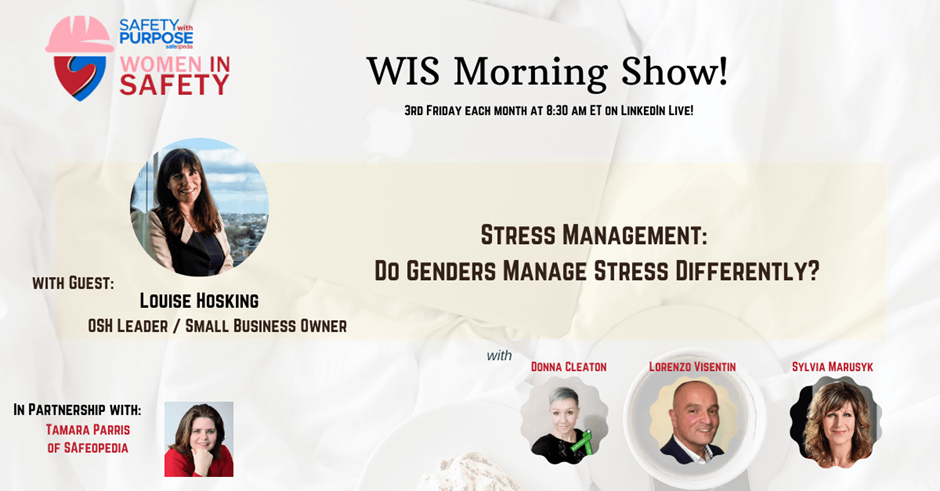 WIS Morning Show: Stress Management Do Genders Manage Stress Different