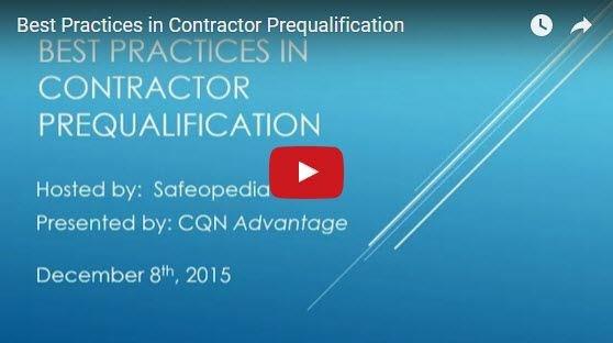 Image for Webinar:  Best Practices in Contractor Prequalification